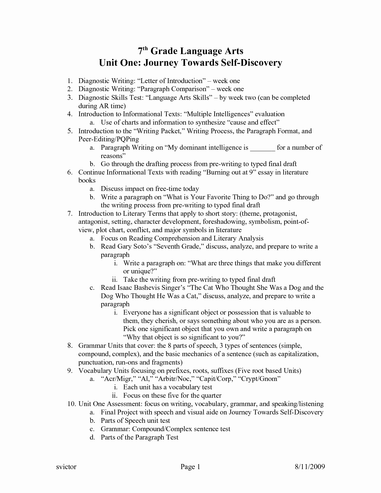 7th Grade Language Arts Worksheets Inspirational 20 Best Of Seventh Grade History Worksheets 7th