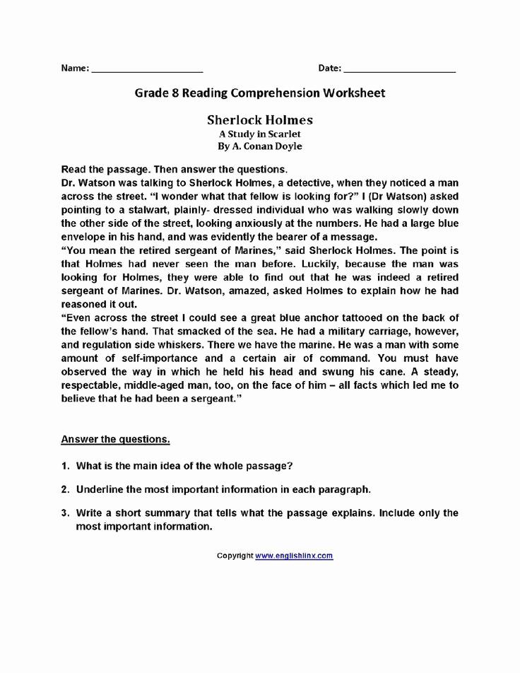 8th Grade Reading Worksheets Luxury Homeschool Board Image by Rebecca