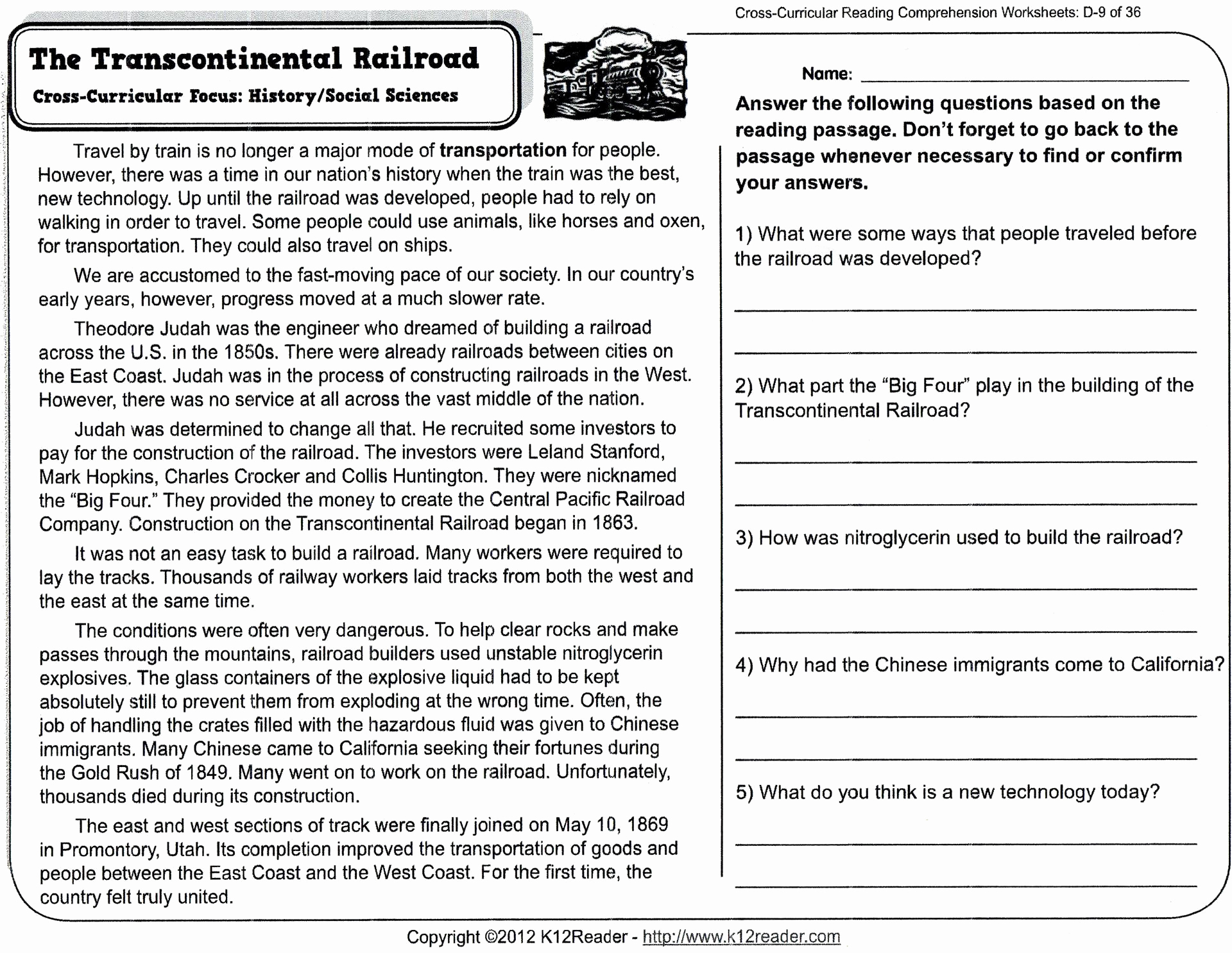 8th Grade Reading Worksheets Luxury Reading Prehension Worksheets for 8th Grade Free Report