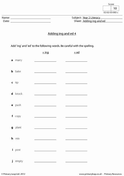 Adding Ed and Ing Worksheets Beautiful Ing Worksheet S – Worksheets Samples