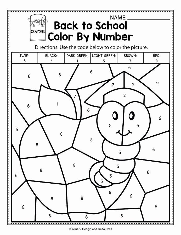 Addition Coloring Worksheets for Kindergarten Awesome Addition Coloring Worksheets for Kindergarten Pre Free