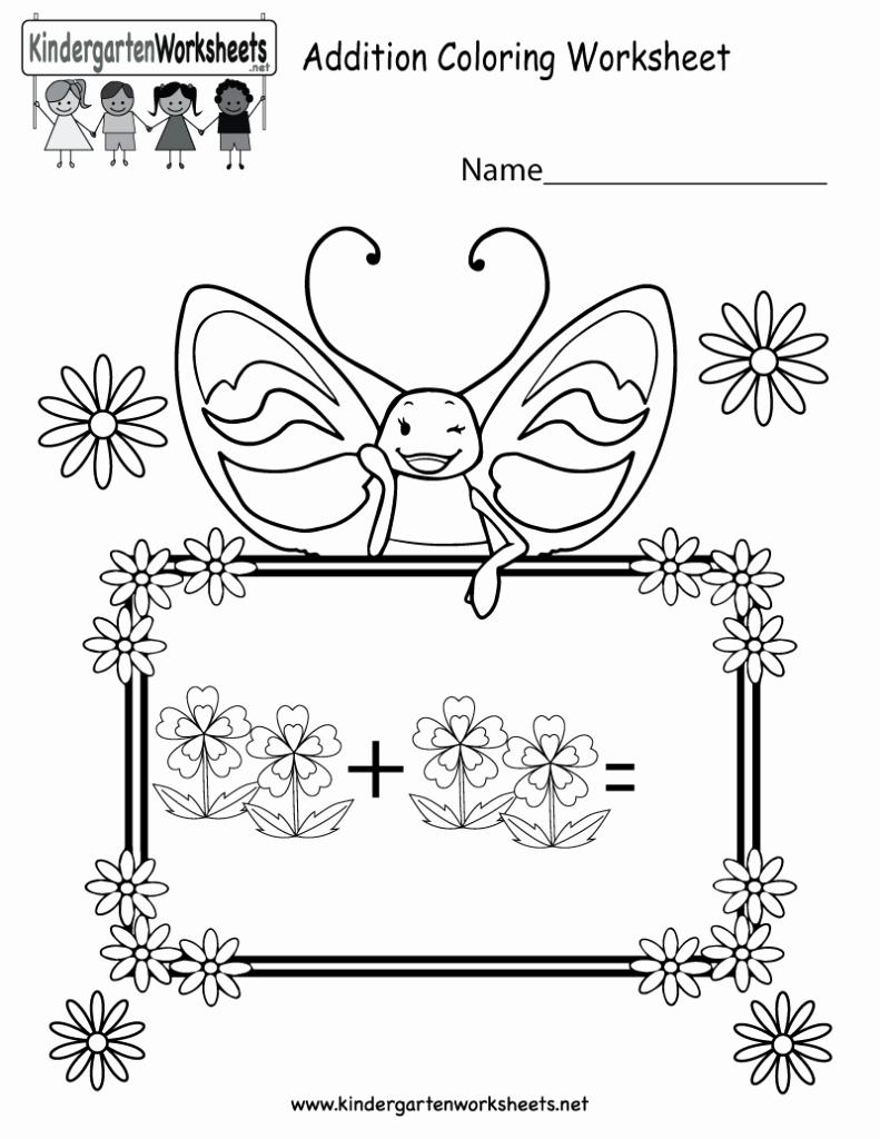 Addition Coloring Worksheets for Kindergarten New Coloring Pages Free Addition Coloring Worksheet for