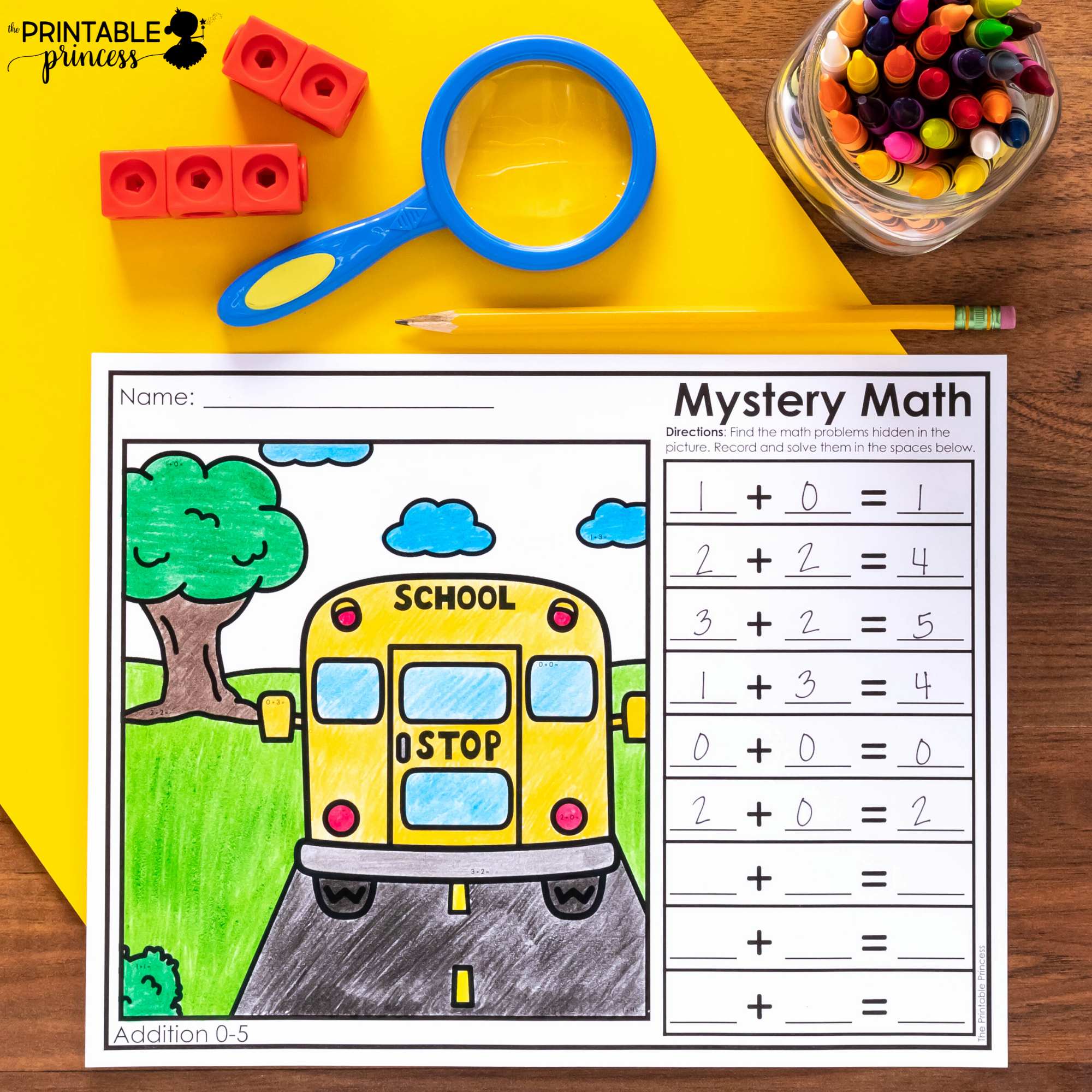 Addition Mystery Picture Worksheets Luxury Mystery Math Addition and Subtraction Worksheets