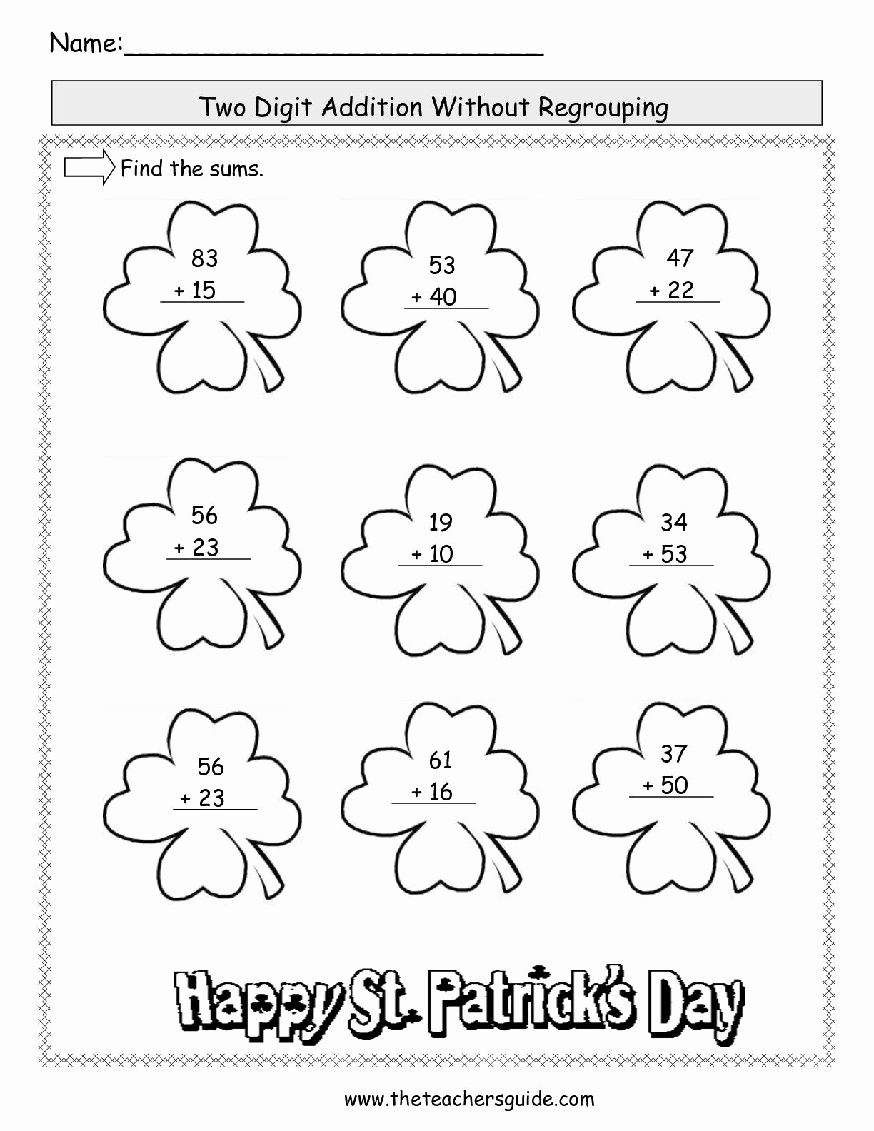 Addition with Regrouping Coloring Worksheets Awesome 2 Digit Addition with some Regrouping Google Search