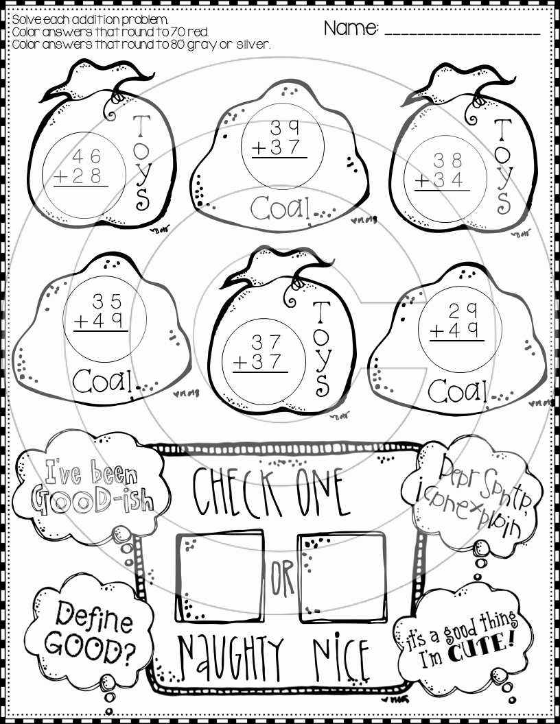 Addition with Regrouping Coloring Worksheets Fresh Christmas 2 Digit Addition with Regrouping Color by Code