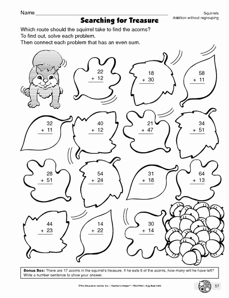 Addition with Regrouping Coloring Worksheets Lovely Double Digit Addition Color by Number Sketch Coloring Page