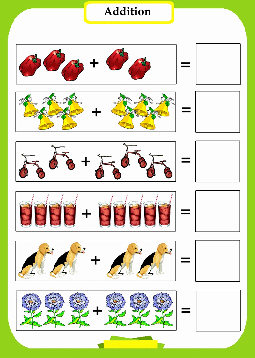 Addition Worksheets with Pictures Lovely Fun Math Worksheets to Print