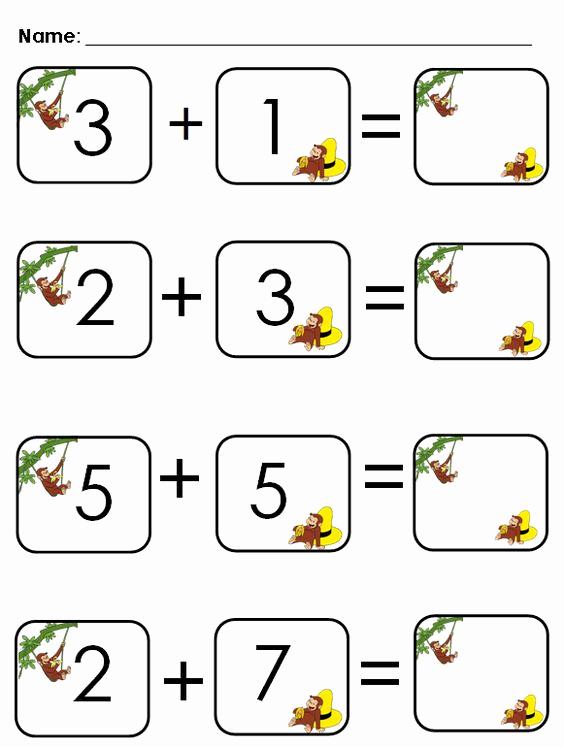 Aloha Math Worksheets Elegant Aloha Kindergarten Cute Addition Worksheet