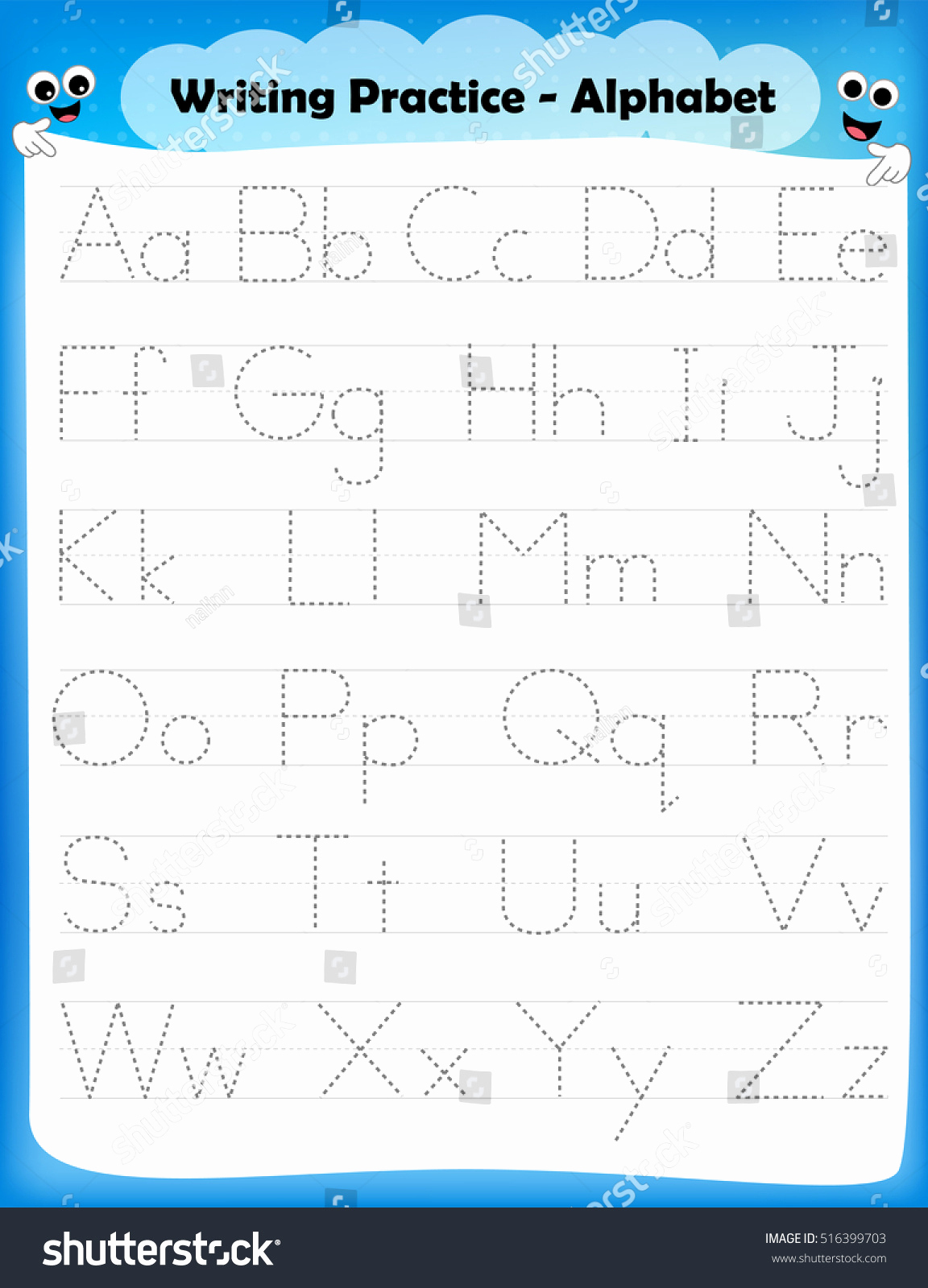 Alphabet Trace Worksheet Beautiful Tracing Over Letters Worksheets