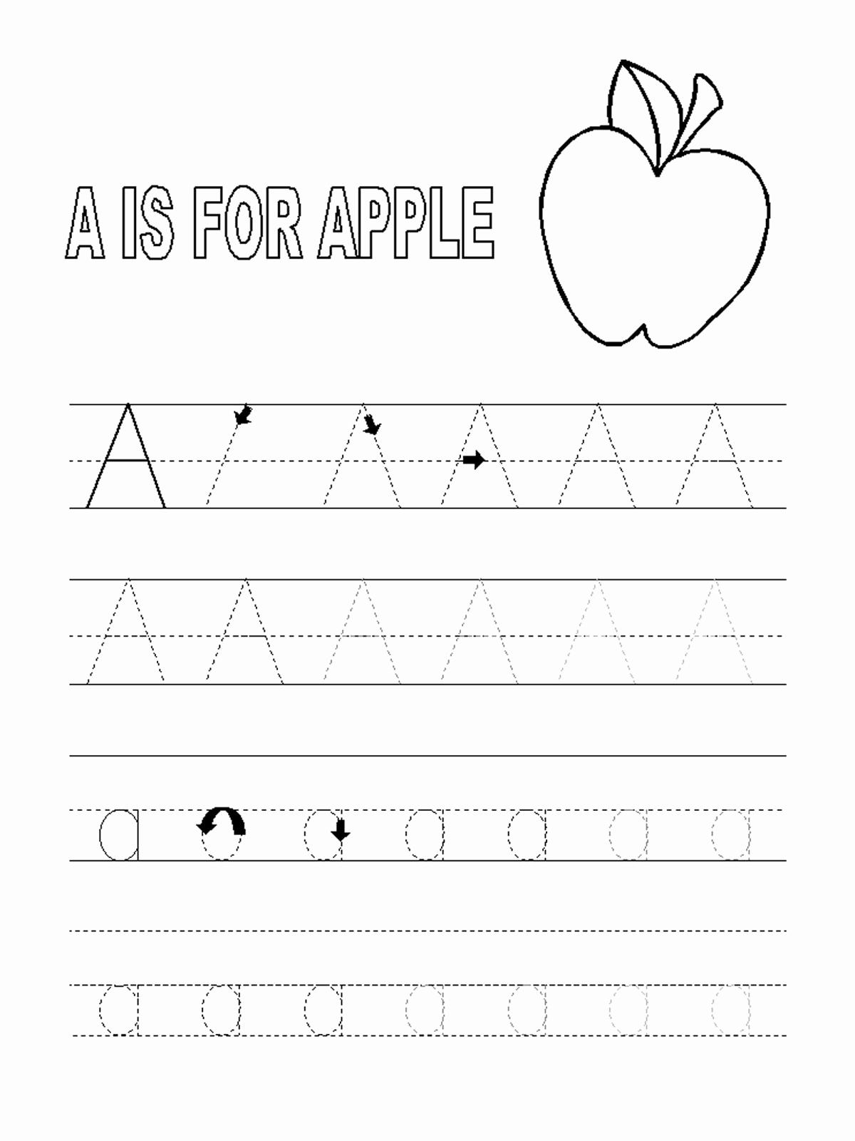 Alphabet Trace Worksheet Elegant Alphabet Tracer Pages for Kids