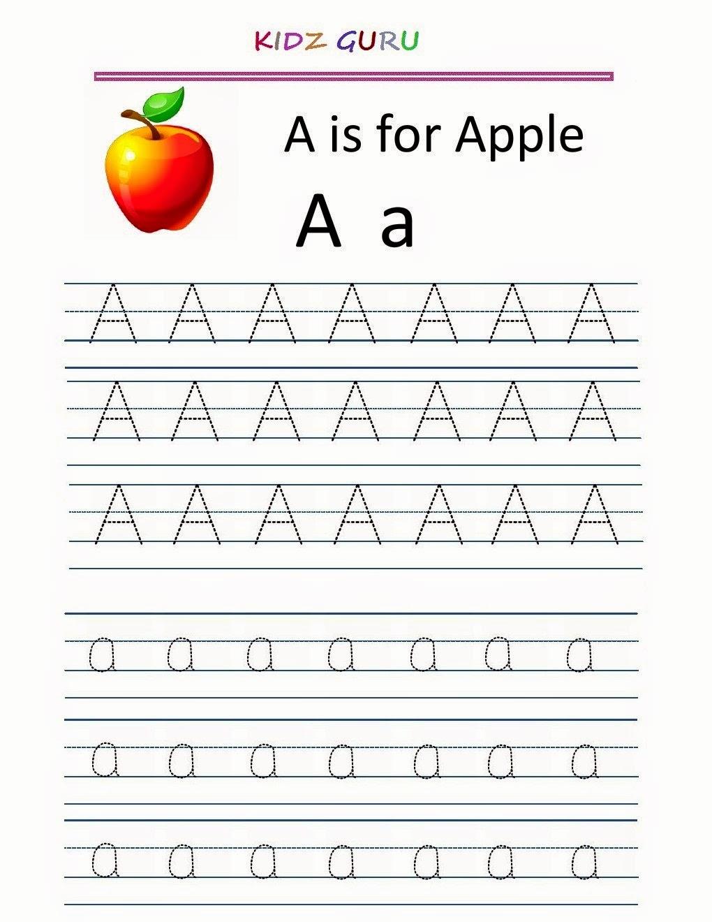 Alphabet Trace Worksheet Lovely Kindergarten Worksheets Printable Tracing Worksheet