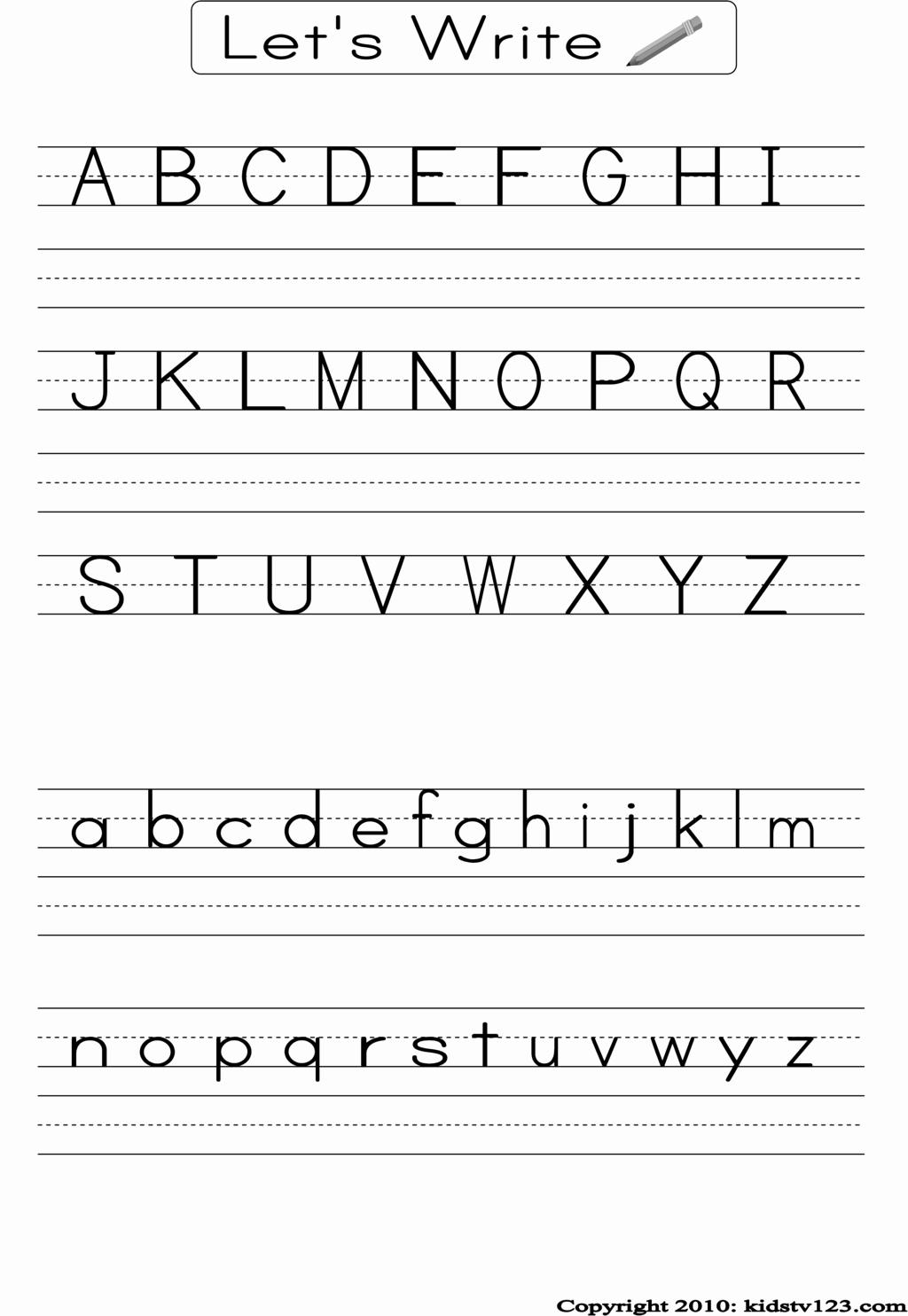 Alphabet Tracing Worksheets Pdf Lovely Handwriting Worksheet Pdf 5 Free Handwriting Practice