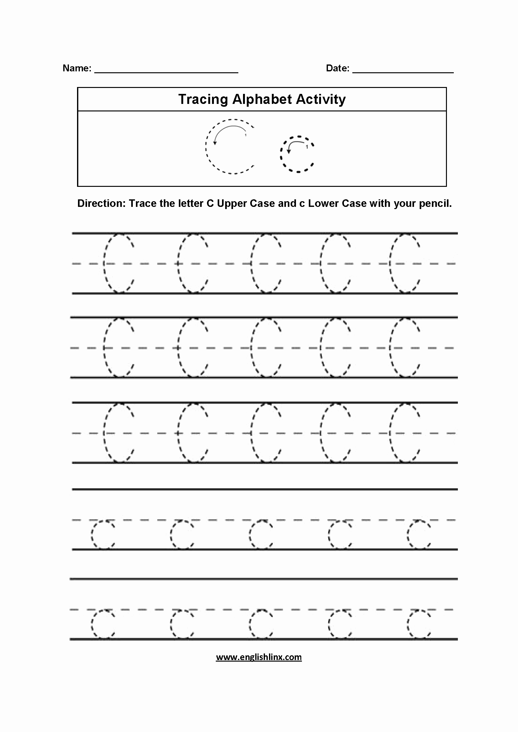 Alphabet Tracing Worksheets Pdf Luxury Tracing Alphabet Letters Worksheets Pdf