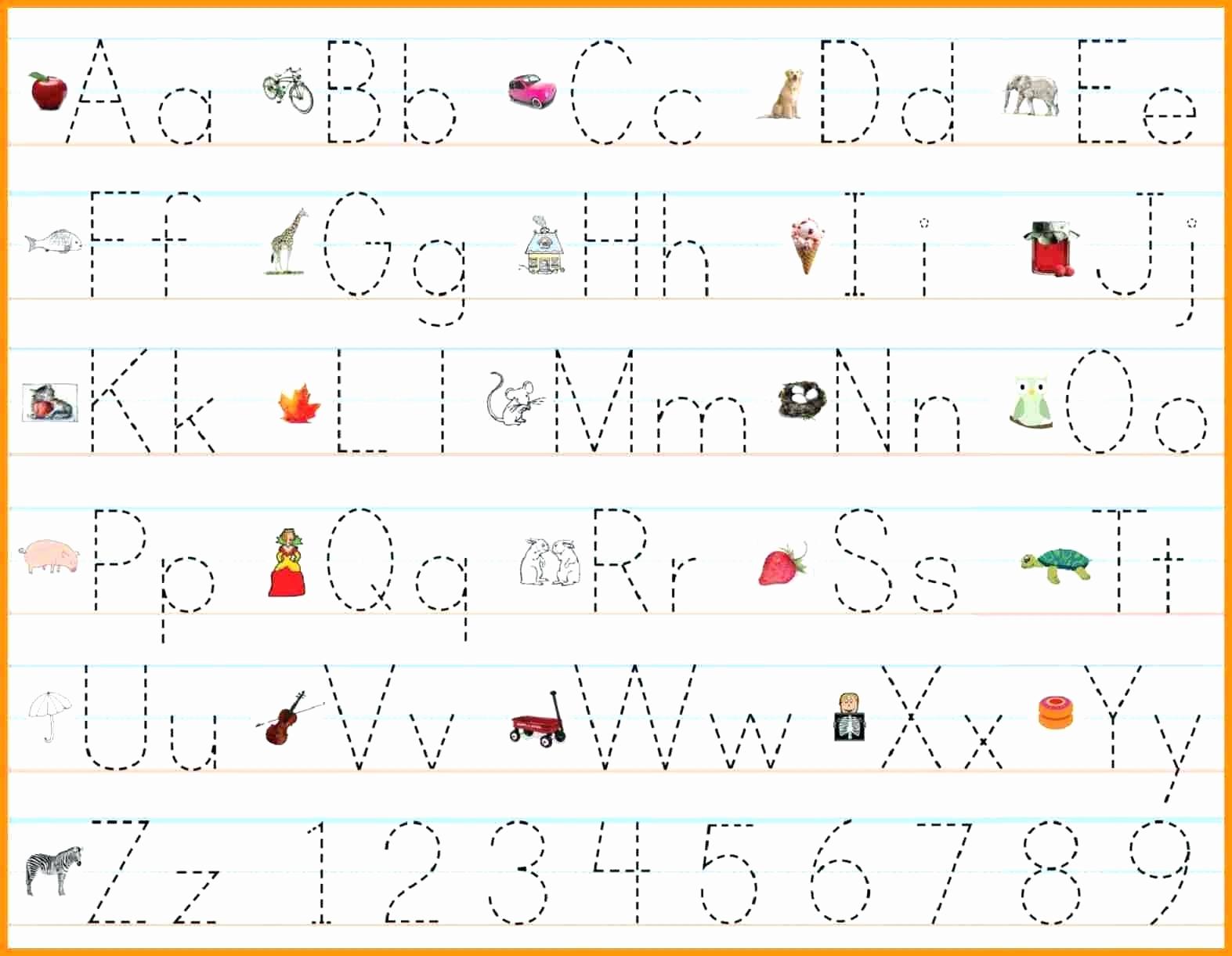 Alphabet Tracing Worksheets Pdf Unique Alphabet Practice Worksheets Pdf