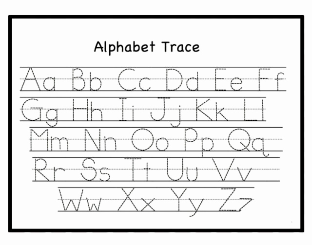 Alphabet Tracing Worksheets Pdf Unique Free Letter Tracing Worksheets Pdf Printable for toddlers