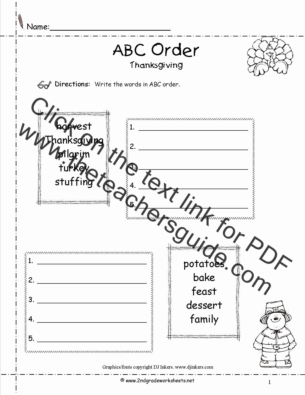 Alphabetical order Worksheets 2nd Grade Best Of Alphabetical order Worksheet 2nd Grade Driverlayer