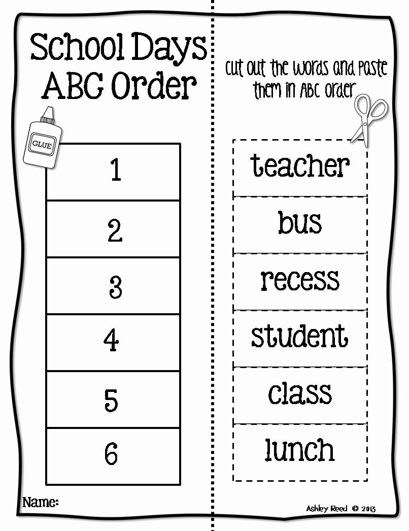 Alphabetical order Worksheets 2nd Grade Luxury 15 Best Of Abc order Worksheets 2nd Grade – Docap