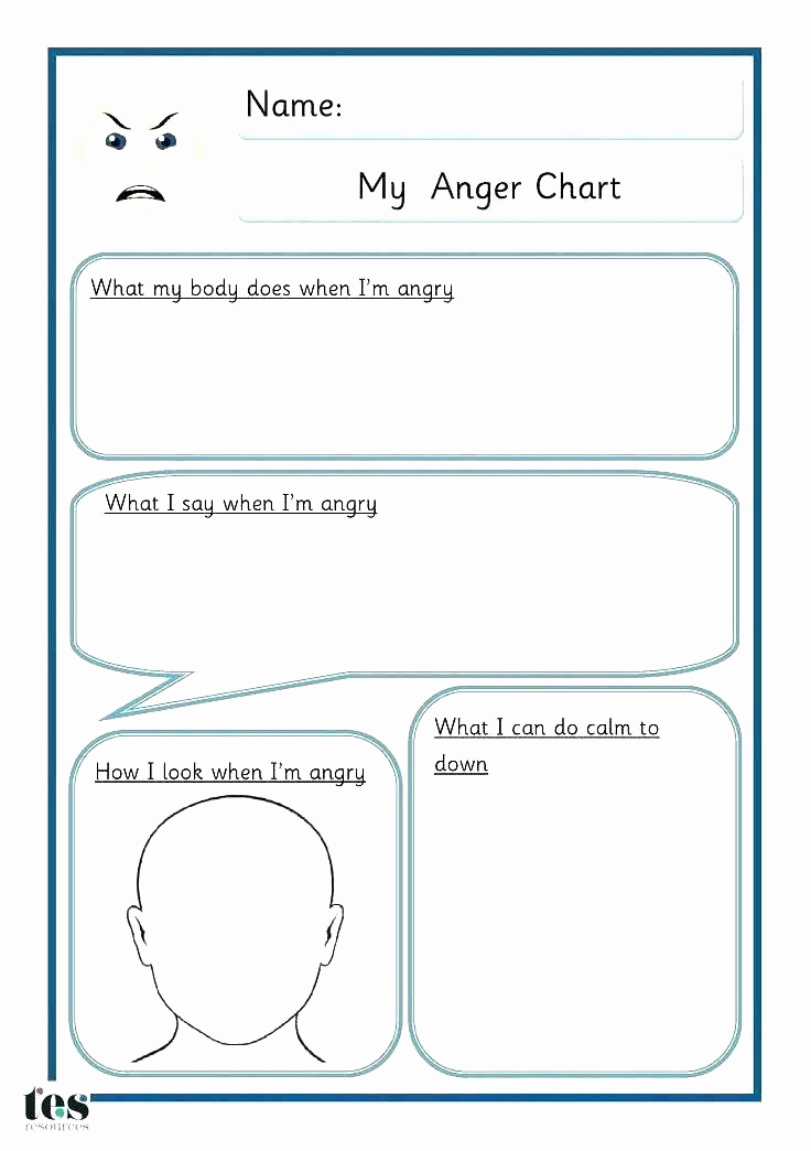 Anger thermometer Worksheet Beautiful 25 Anger thermometer Worksheet