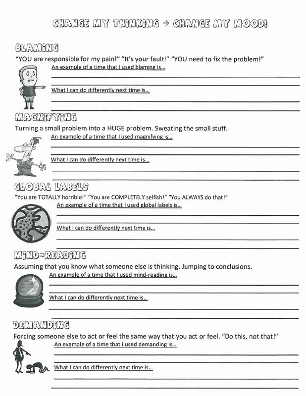 Anger thermometer Worksheet Elegant 30 Anger thermometer Worksheet