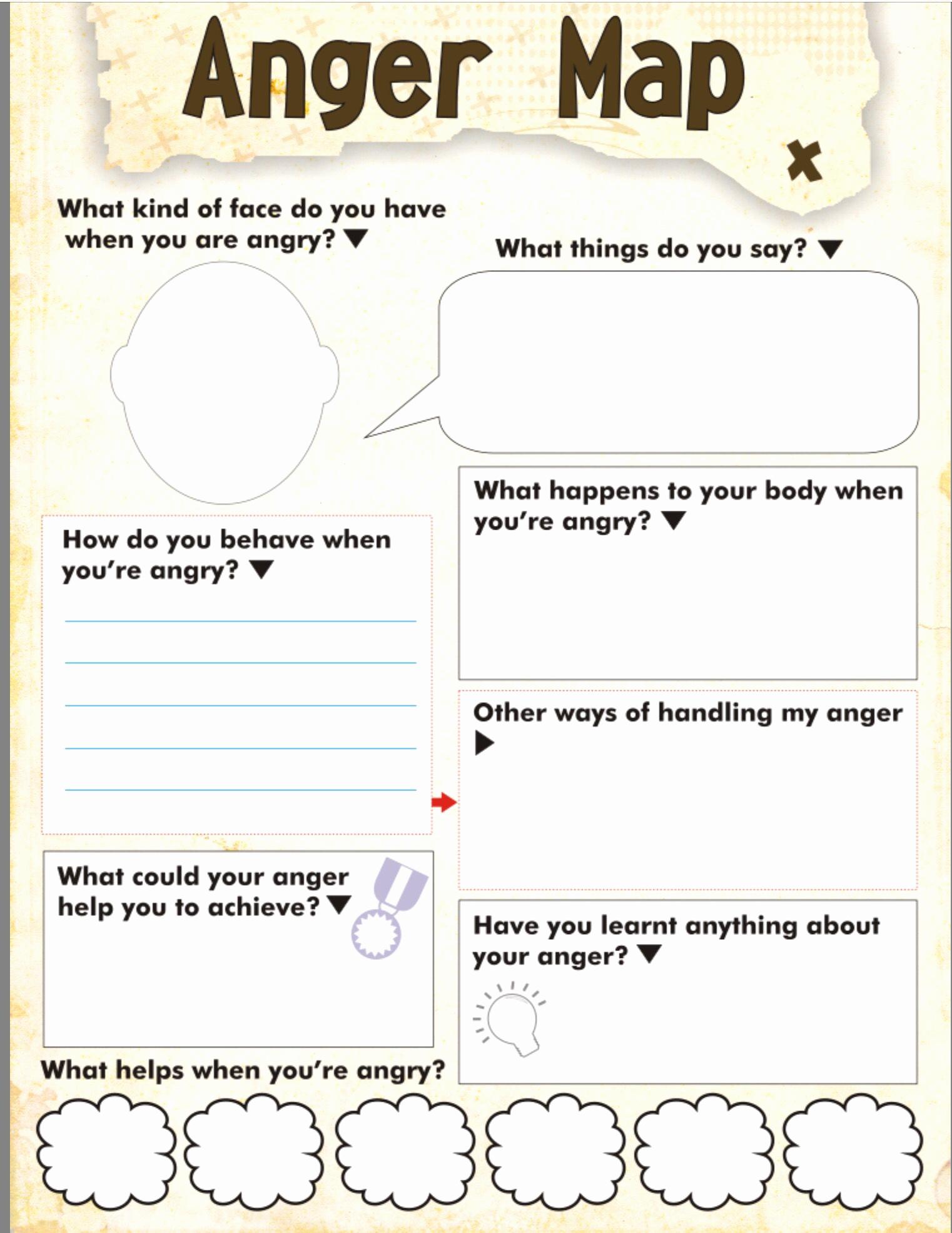 Anger thermometer Worksheet Lovely Anger thermometer Worksheet Printable Print