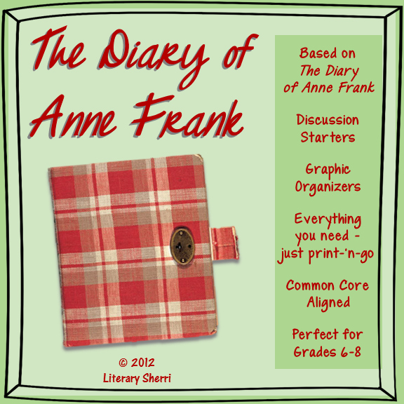 Anne Frank Worksheets Middle School Fresh the Diary Of Anne Frank Mini Lesson Activities Writing