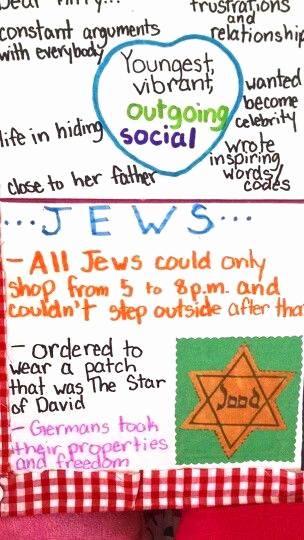 Anne Frank Worksheets Middle School Inspirational Pin by Nanette Lyman On Anne Frank Project