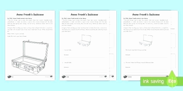 Anne Frank Worksheets Middle School Lovely Anne Frank Worksheets Middle School Diary Anne Frank