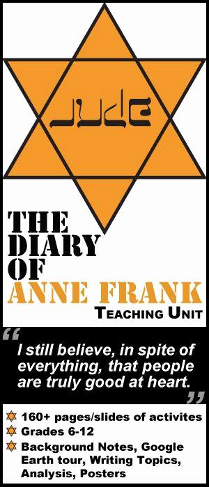 Anne Frank Worksheets Middle School Unique 16 Best Anne Frank Images On Pinterest