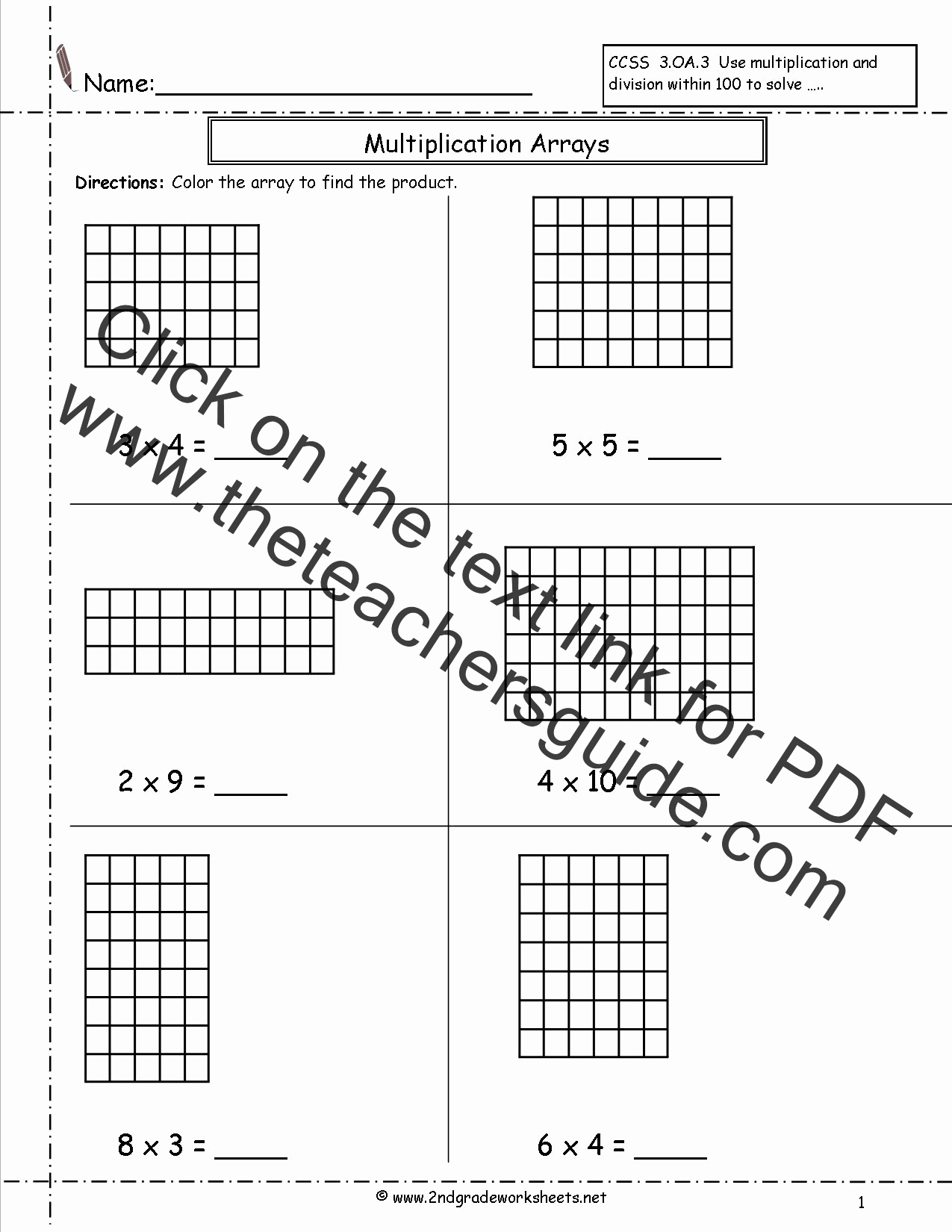"""Arrays Worksheets Grade 2 Awesome Search Results for """"arrays 2nd Grade Worksheet"""" – Calendar"""