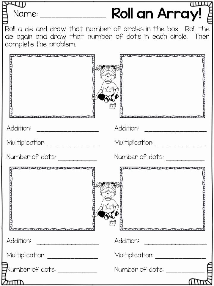 Arrays Worksheets Grade 2 Inspirational Arrays Worksheets 2nd Grade