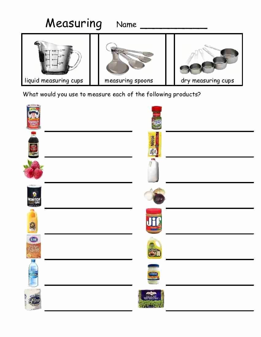 Basic Cooking Skills Worksheets Best Of 30 Basic Cooking Skills Worksheets