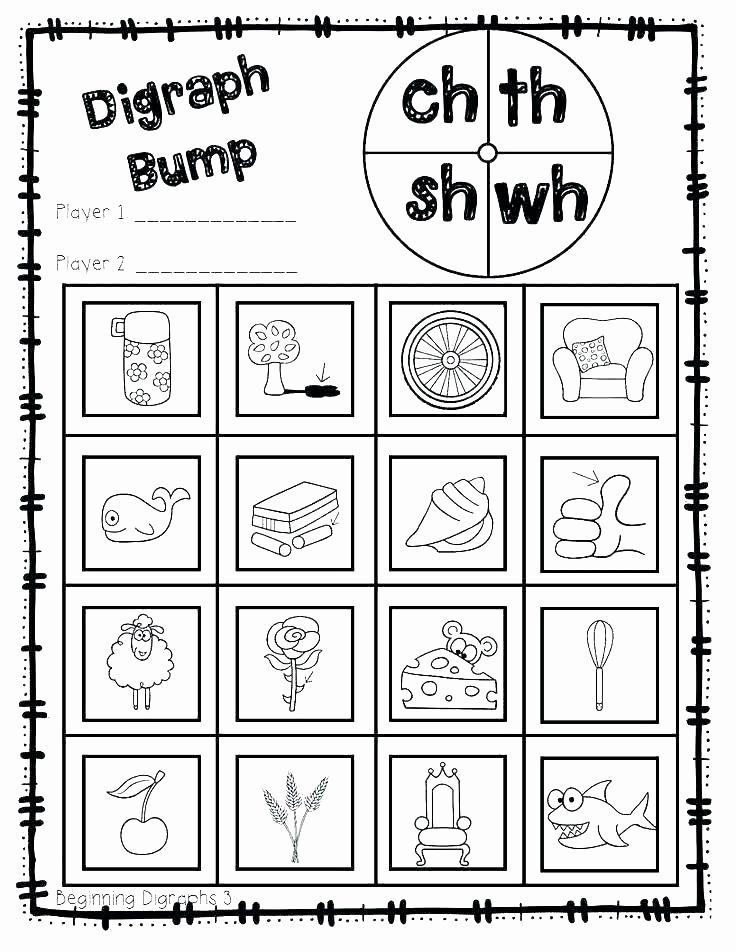 Blends Worksheet for First Grade Fresh Blends Worksheets for 1st Grade Consonant Digraphs