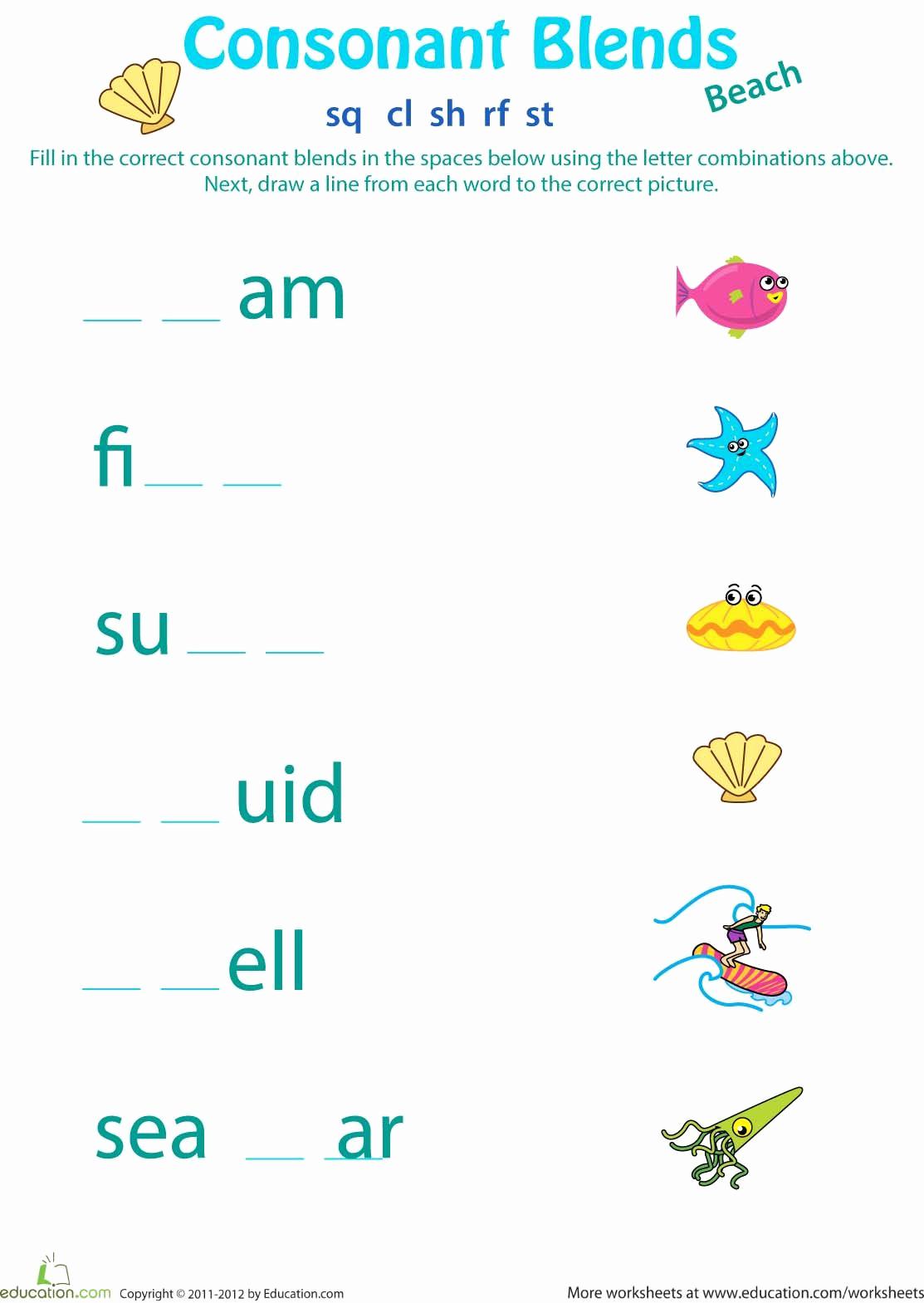 Blends Worksheet for First Grade Inspirational 1st Grade Spelling Image by Jc Castilla