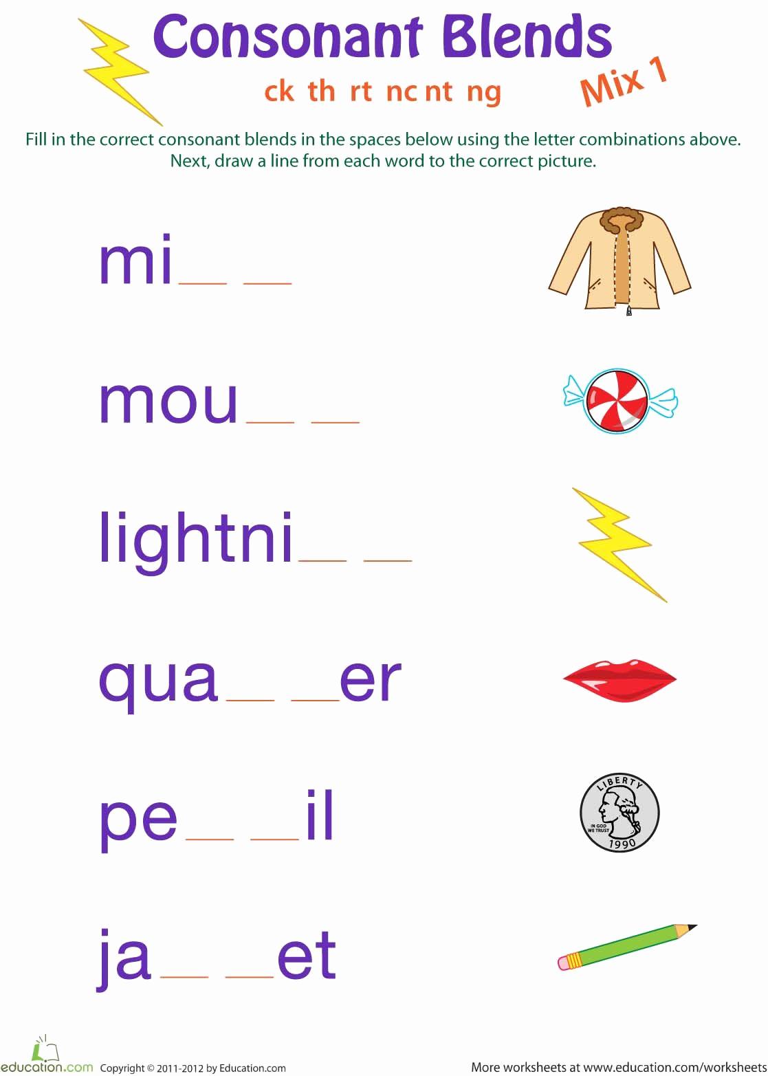 Blends Worksheet for First Grade Lovely Pin by Jc Castilla On 1st Grade Spelling