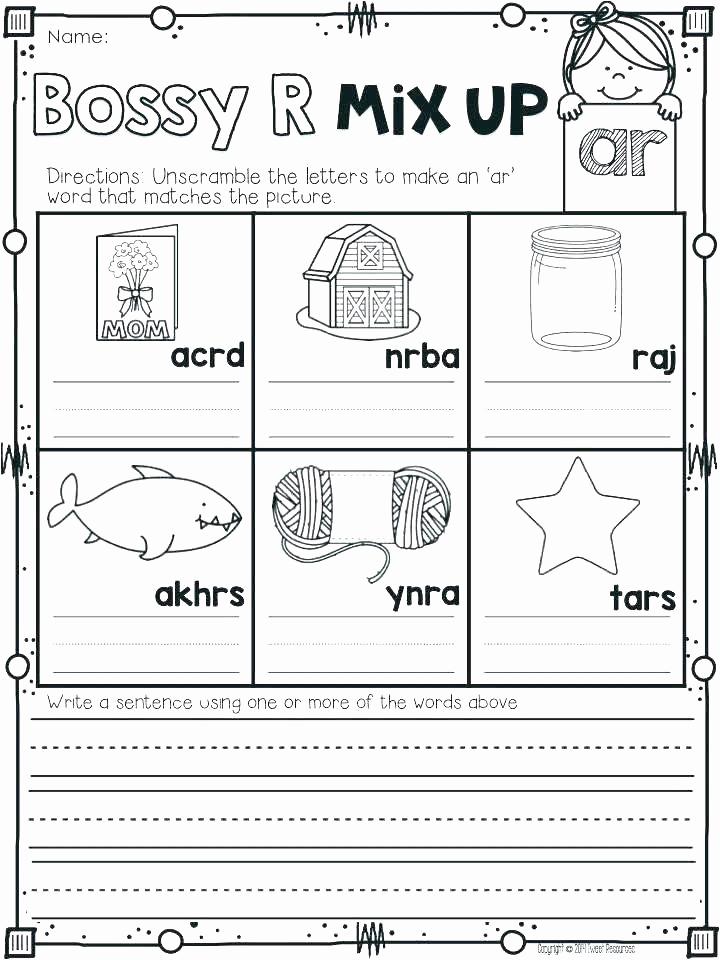 Blends Worksheet for First Grade Luxury Blending Worksheets 1st Grade Phonics First Grade sound