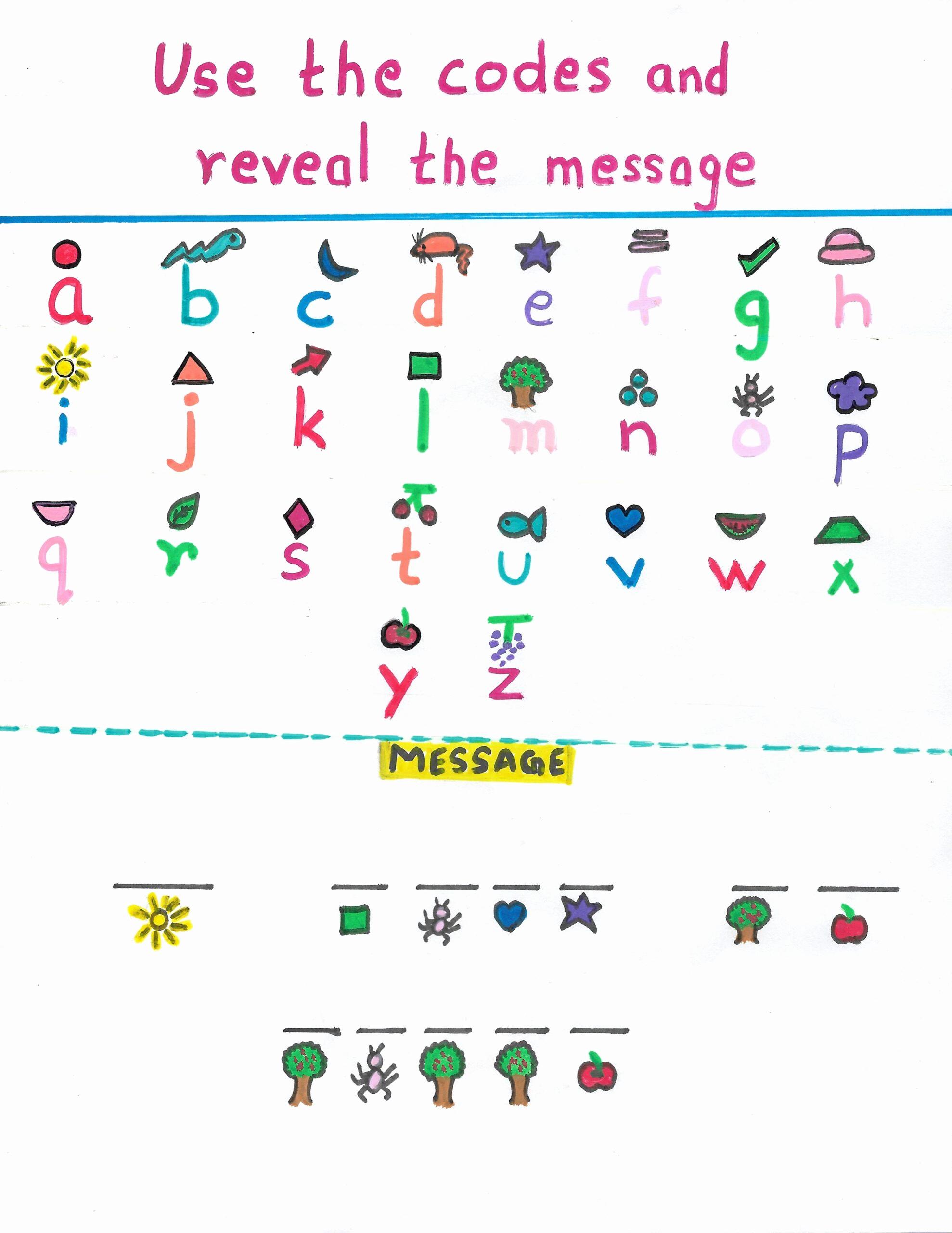 Brain Teaser Worksheets Lovely Brain Teaser Worksheet Decoding the Message Zippi Kids