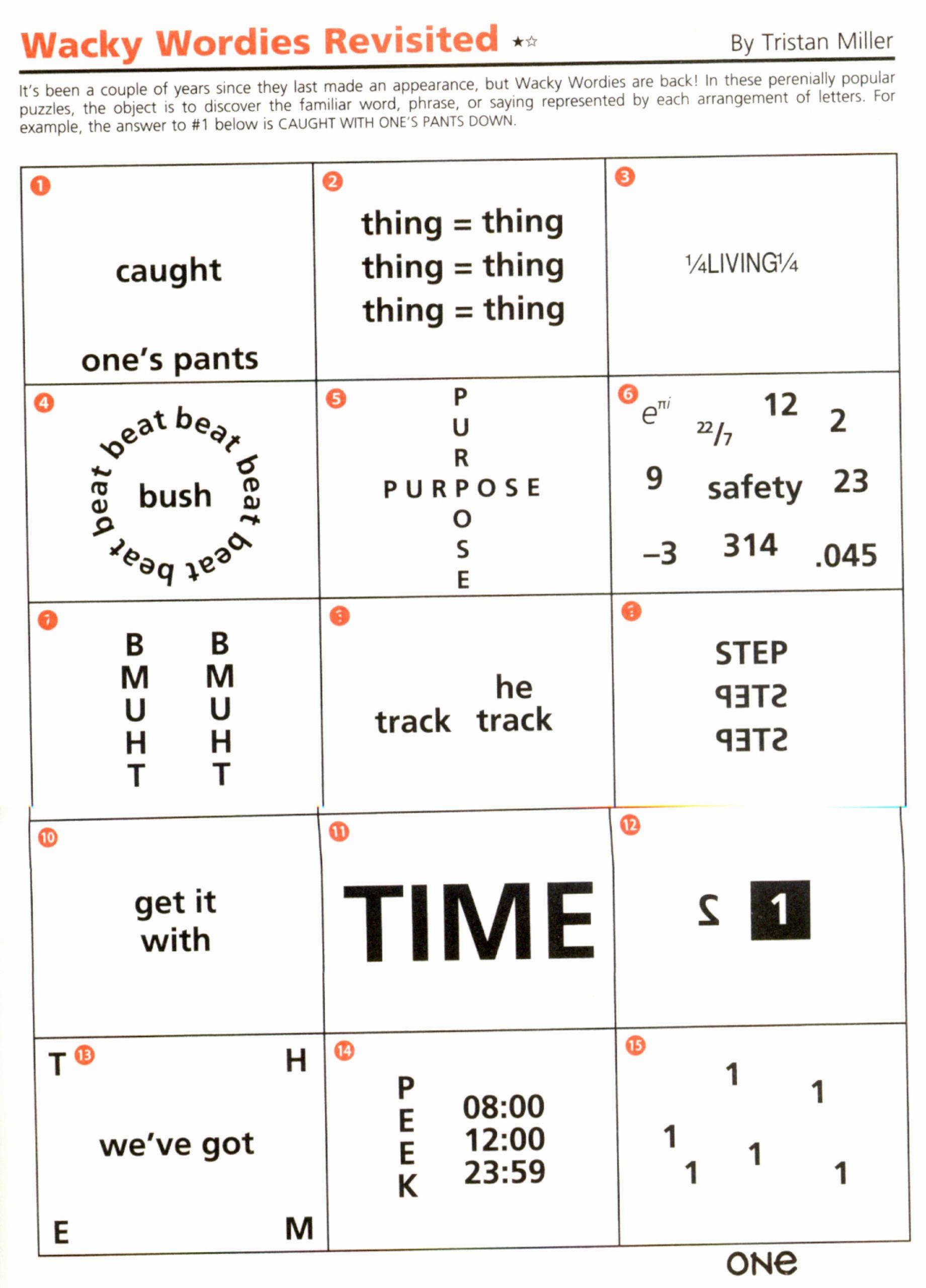 Brain Teaser Worksheets Luxury Brain Teasers Worksheets Pdf — Db Excel