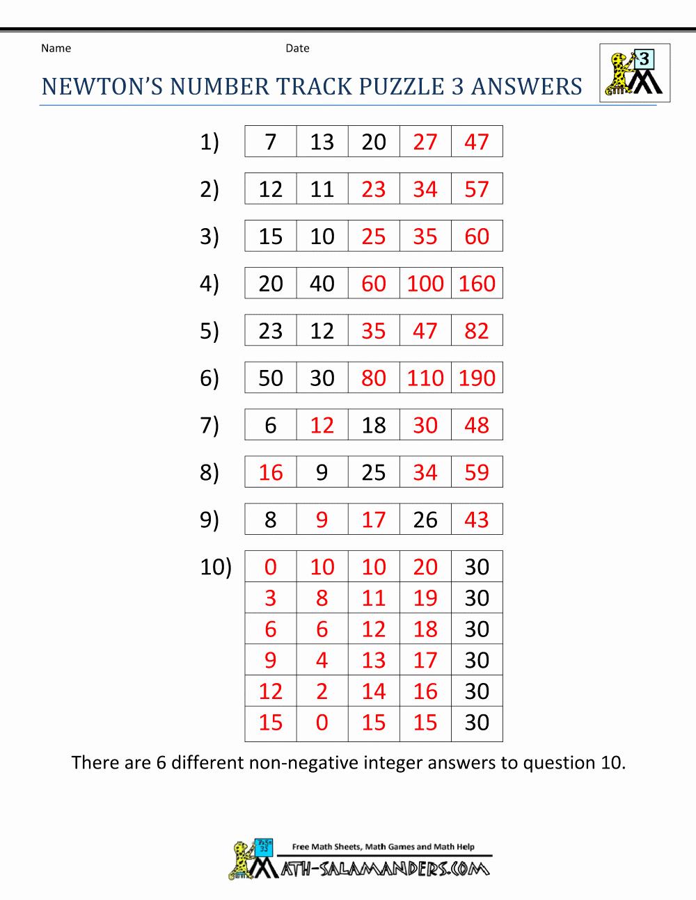 Brain Teaser Worksheets Pdf Best Of Math Brain Teaser Worksheets 6th Grade Antihrap — Db Excel