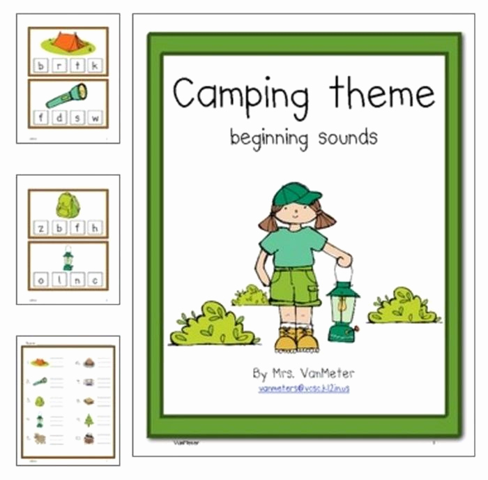 Camping themed Worksheets Best Of 31 Easy and Fun Camping theme Ideas and Activities