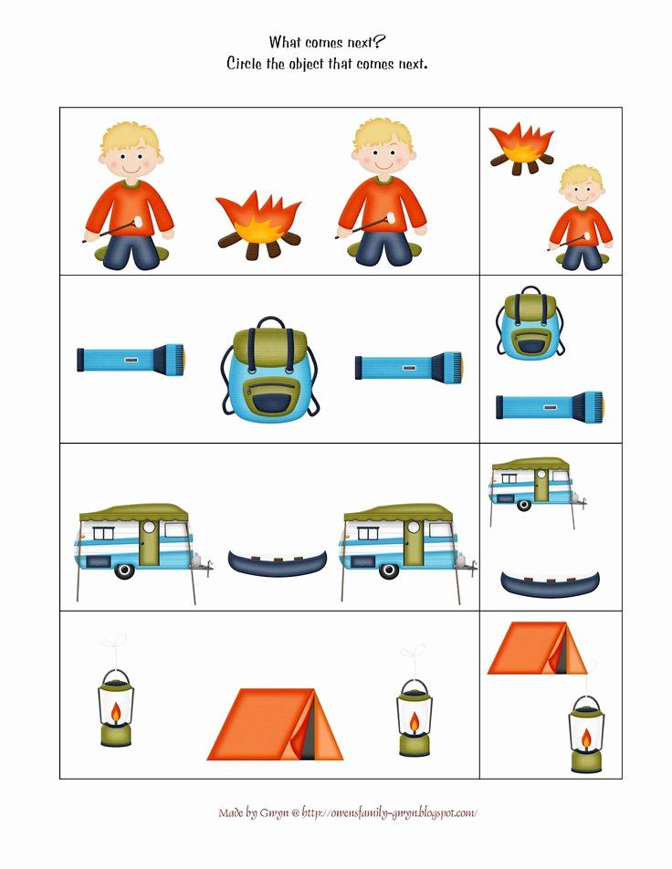 Camping themed Worksheets Lovely 33 Best Images About Preschool Picnic Camping theme On
