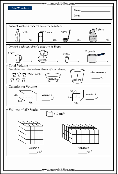 Capacity Conversion Worksheet Best Of 30 Capacity Conversion Worksheet