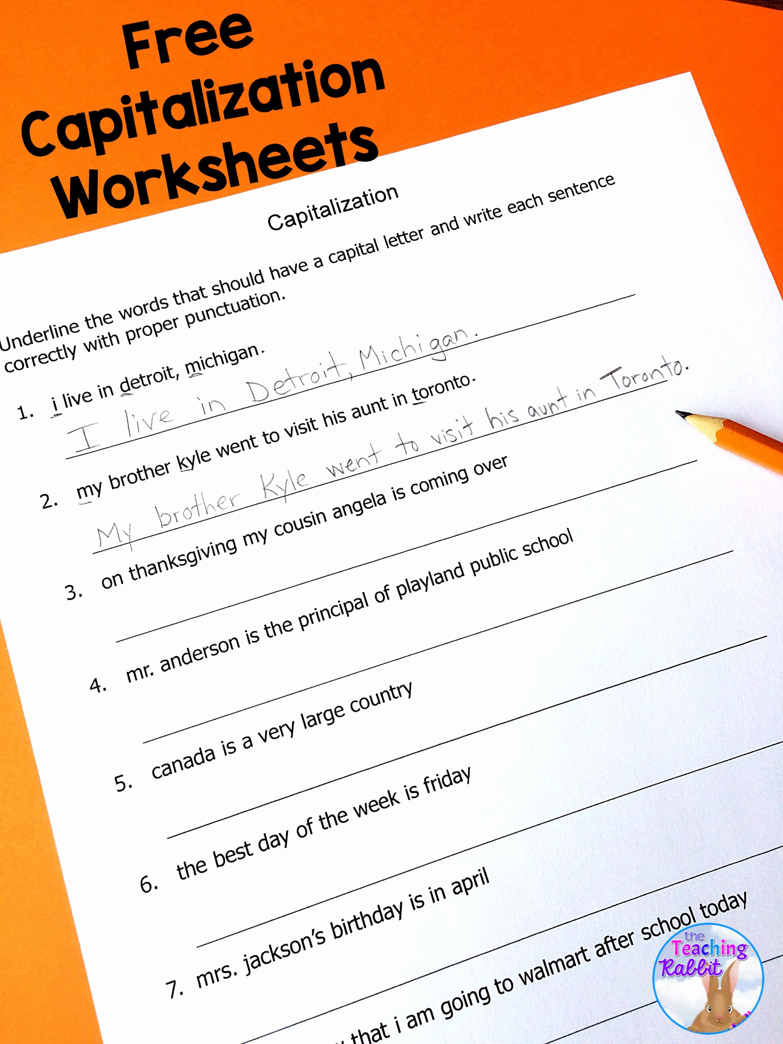 Capitalization Worksheets 4th Grade Pdf Lovely 20 Capitalization Worksheets 4th Grade Pdf