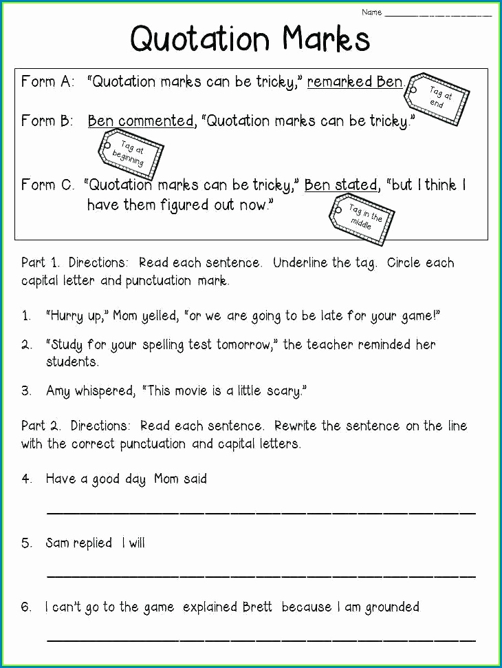 Capitalization Worksheets 4th Grade Pdf New 4th Grade Capitalization Practice Worksheet Worksheet