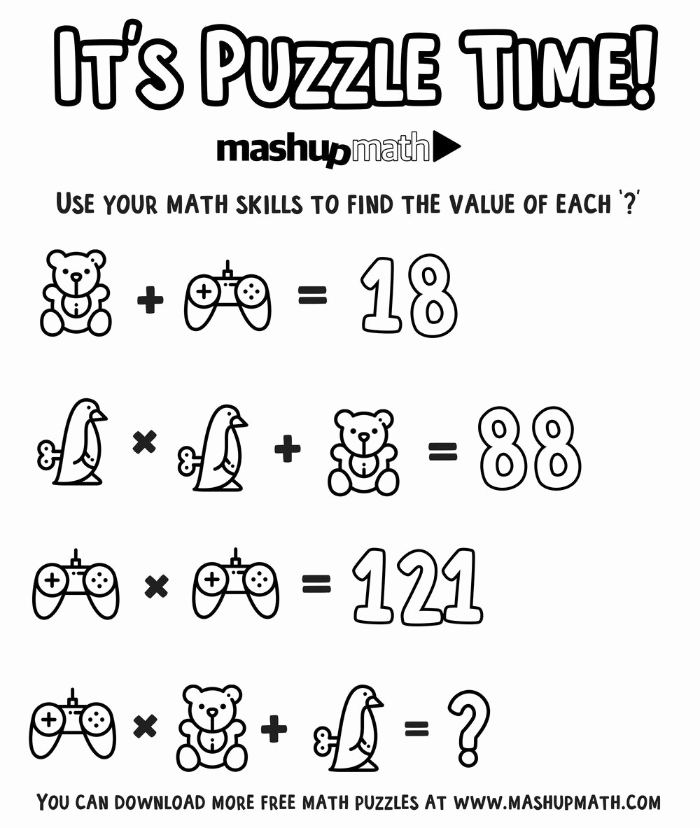 Challenge Math Worksheets New Pin On Pictures