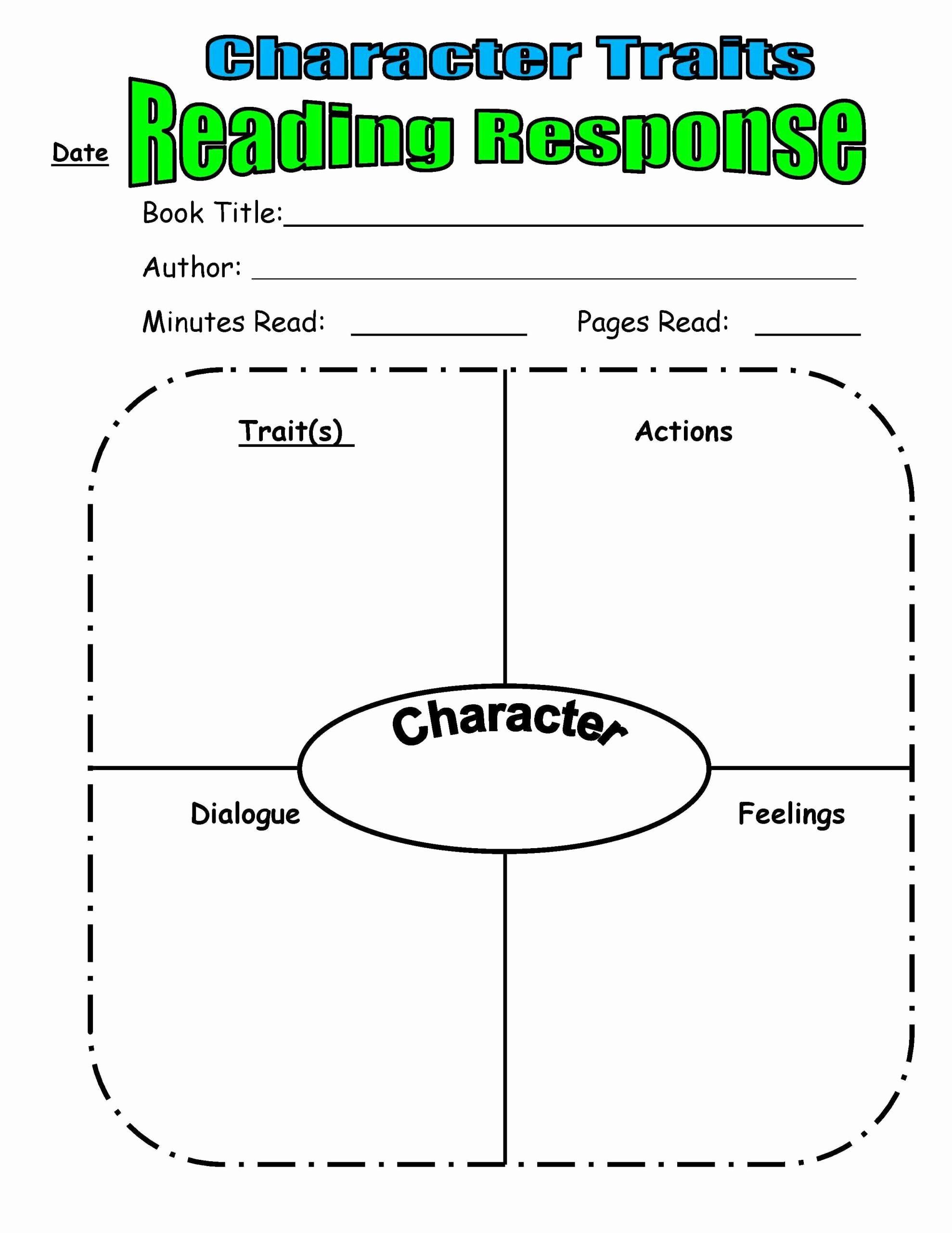 Character Traits Worksheet 2nd Grade Beautiful 20 Character Traits Worksheet 2nd Grade