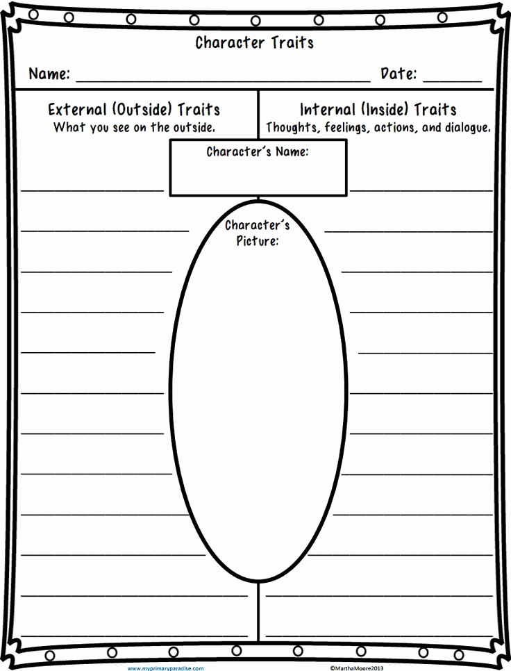 Character Traits Worksheet 2nd Grade Best Of 2nd Grade Character Traits Worksheet Grade 2