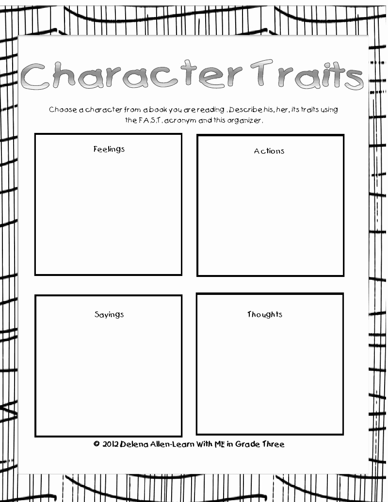 Character Traits Worksheet 2nd Grade Inspirational 13 Best Of About Worksheet 2nd Grade Back to