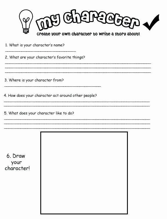 Character Traits Worksheet 2nd Grade Luxury Character Traits Worksheet 2nd Grade Draw the Kitten