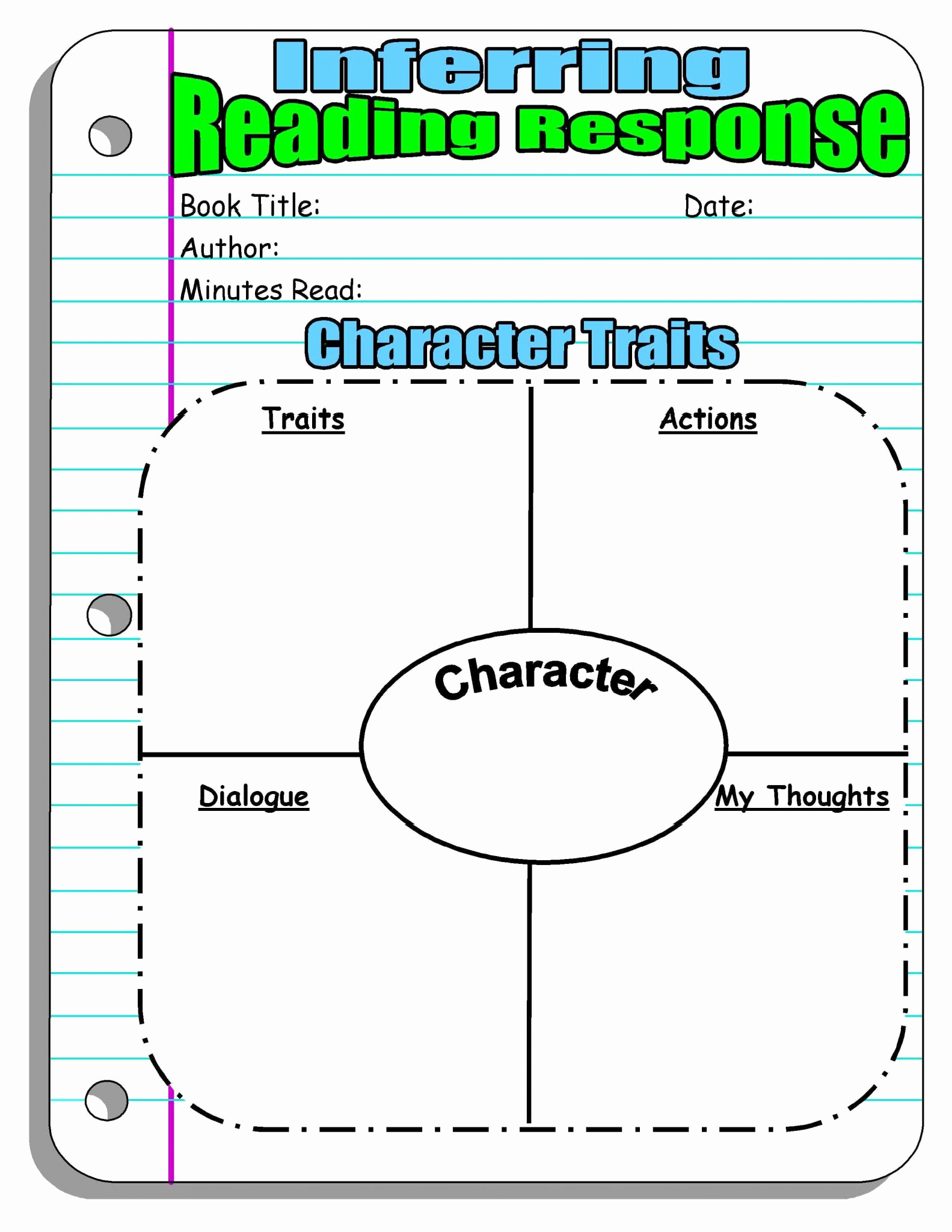 Character Traits Worksheet 2nd Grade New 2nd Grade Reading Prehension Worksheets Pdf