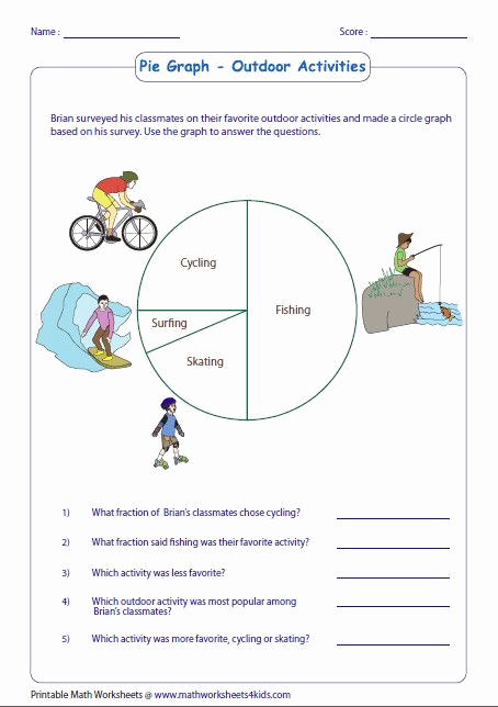 Circle Graphs Worksheets 7th Grade Best Of Circle Graphs Worksheets 7th Grade In 2020